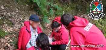 Localizan en un zarzal al octogenario desaparecido desde el lunes en Markina - El Correo