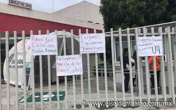 Hospital de Ixmiquilpan sin personal de limpieza en las últimas 48 horas - El Sol de Hidalgo