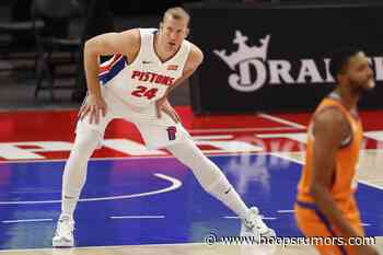 Plumlee Justified Pistons' Faith In Him