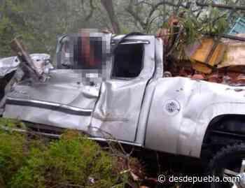Fuerte accidente en la Chignahuapan-Tlaxco deja una persona prensada - desdepuebla.com - DesdePuebla