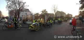 Mobilisation pour la résorbtion de la discontinuité cyclable du Petit Clamart – Palaiseau (91) Chemin de la Porte Jaune samedi 5 juin 2021 - Unidivers