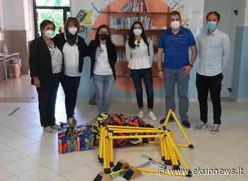 Ancarano, dai gettoni di presenza dei consiglieri comunali un kit di attrezzature sportive per la scuola   ekuonews.it - ekuonews.it