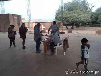 Poca concurrencia a vacunatorios en Boquerón - Nacionales - ABC Color
