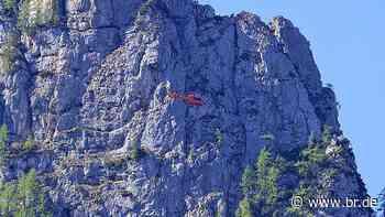 Tödlicher Absturz bei Klettertour in den Berchtesgadener Alpen - BR24