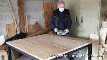 Marck : De commercial à créateur de meubles, Bernard Marcotte effectue un retour aux sources - Le Journal des Flandres