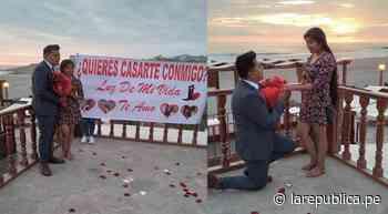 Arequipa: turistas protagonizan romántica pedida de mano en playas de Mollendo - LaRepública.pe