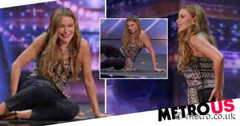 Sofia Vergara in pain after trying to crack a walnut open with butt - Metro.co.uk