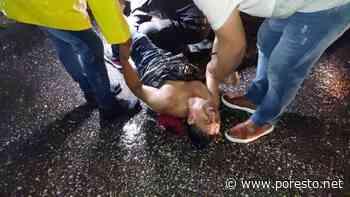Trailero huye tras impactar a un motociclista en Ciudad del Carmen - PorEsto