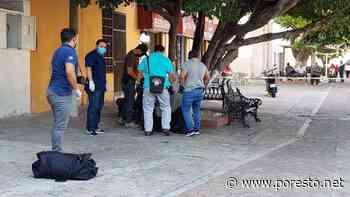 Muere indigente sentado en una banca de Ciudad del Carmen - PorEsto