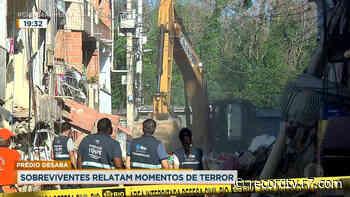 Rio: 7 prédios são interditados em Rio das Pedras, após desabamento - Record TV