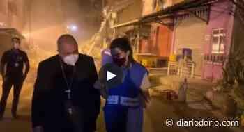 Dom Orani Tempesta visita Rio das Pedras após a tragédia do desabamento - Diário do Rio de Janeiro