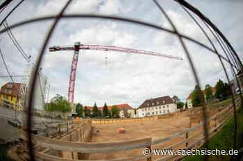 """Heidenau: Baustelle """"Neue Mitte"""" verwaist - Sächsische.de"""