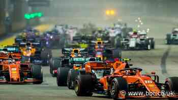 Singapore Grand Prix cancelled as Formula 1 bosses assess replacement options