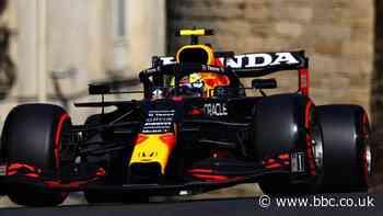 Azerbaijan Grand Prix: Sergio Perez fastest in second practice as Mercedes struggle