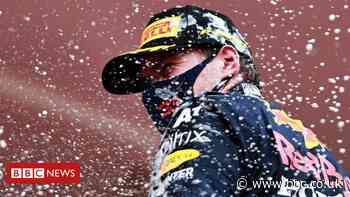 F1's Max Verstappen: 'I have to believe I'm the best'