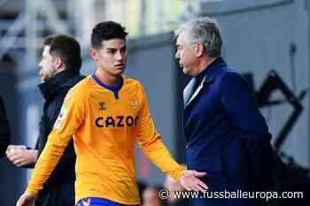 James Rodriguez und Richarlison geschockt von Ancelotti-Abschied - Fussball Europa