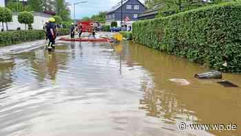 Starkregen in Wenden: 160 Kräfte im Kampf gegen Wassermassen - WP News