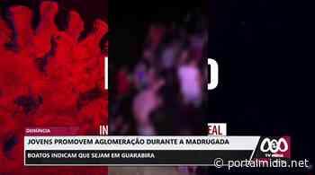 Boatos indicam que sejam em Guarabira: Jovens promovem aglomeração durante a madrugada - PortalMidia
