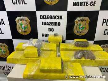Polícia apreende 5,5kg de maconha após perseguição em Juazeiro do Norte - Badalo
