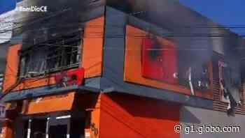 Loja de calçados sofre incêndio em Juazeiro do Norte, no Ceará - G1
