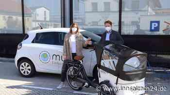Ampfing bietet seinen Einwohnern neben Carsharing nun auch ein Elektro-Lastenrad - innsalzach24.de