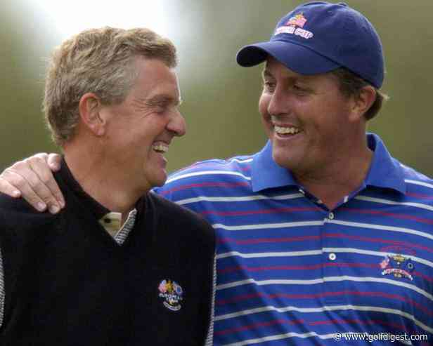Either Phil Mickelson is really bad with names or he's been trolling Colin Montgomerie for decades - Golf Digest