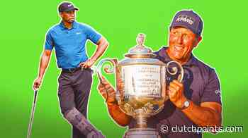 Tiger Woods struggling with rehab while Phil Mickelson is winning majors - ClutchPoints