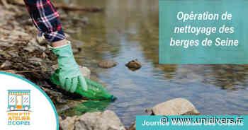 Opération de nettoyage des berges de Seine à Grand Quevilly le grand quevilly dimanche 13 juin 2021 - Unidivers