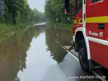 Grevenbroich: 20 Einsätze für Feuerwehr nach Unwetter | Rhein-Kreis Nachrichten - Klartext-NE.de