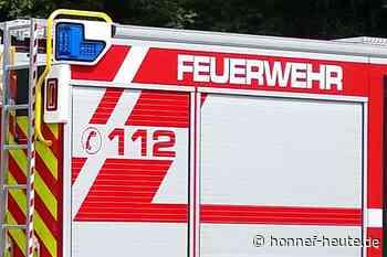 Bad Honnefer Feuerwehr unterstützt nach Gewitter in Hennef - Honnef heute