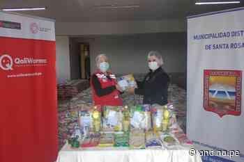 Qali Warma entrega 23 toneladas de alimentos a Santa Anita y Santa Rosa - Agencia Andina