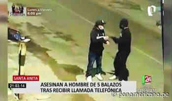Vecinos de Santa Anita presumen que asesinato de hombre no respondería a un robo - Panamericana Televisión