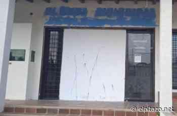 Vándalos causan destrozos en la fachada de clínica municipal en Clarines - El Pitazo