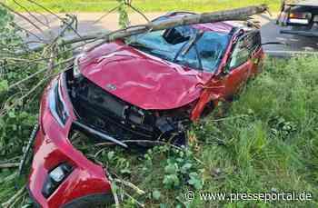 FW Frankenthal: Verkehrsunfall mit glimpflichem Ausgang - Presseportal.de
