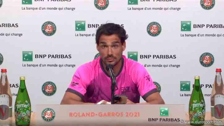French Open tennis - 'I am stupid!' - Fabio Fognini goes on astonishing rant at himself after loss - Eurosport COM