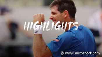 French Open tennis - Highlights: Federico Delbonis dispatches Fabio Fognini in straight sets - Eurosport.com