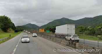 Acidentes causam interdição da BR-101 em Tijucas - Mobilidade Floripa