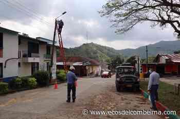 Infibagué adjudicó la interventoría para la modernización del alumbrado en San Bernardo - Ecos del Combeima
