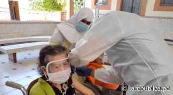 Sechura: distrito de Vice inició vacunación de adultos mayores - LaRepública.pe