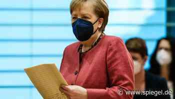 Pressekonferenz: Angela Merkel über Treffen mit Ost-Länderchefs - DER SPIEGEL