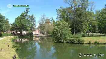 Stadsbestuur komt met alternatief voor opgepompt drinkwater in visvijver Herk-de-Stad - TV Limburg