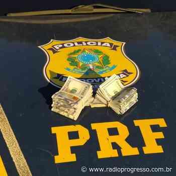 PRF apreende 20 mil dólares em Cruz Alta – RPI – Rádio Progresso de Ijuí - Rádio Progresso de Ijuí