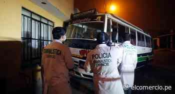 Asesinan a chofer de coaster mientras regresaba a su casa en Ancón - El Comercio Perú