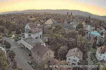Faszinierender neuer Blick auf Ladenburg - Mannheimer Morgen