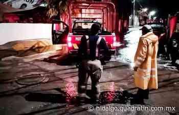 Inundaciones, barda y arboles caídos, saldo de lluvia en Mixquiahuala - Quadratín Hidalgo