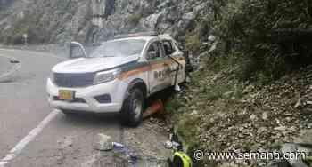 Dos policías heridos en ataque armado en Santa Fe de Antioquia - Semana