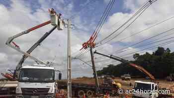 Energisa restabelece energia em Cruzeiro do Sul, Mâncio Lima e Rodrigues Alves - ac24horas.com