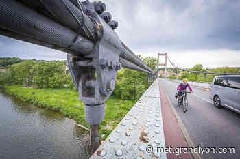 Le pont de Vernaison passe en sens unique à partir du 23 juin - Grand Lyon, communauté urbaine