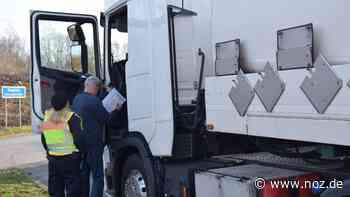 Polizei zieht Gefahrgutransport bei Bad Bentheim aus dem Verkehr - NOZ