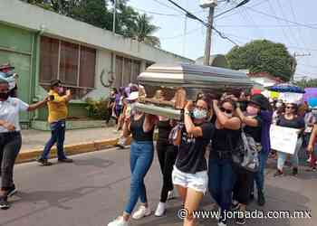 Claman por justicia para Itzel Cisneros, menor violada y asesinada en Nanchital - La Jornada